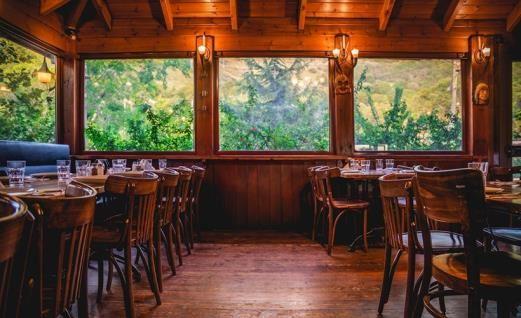 מסעדת הבוקרים במרום גולן